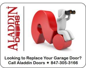 seeking garage door replacement services
