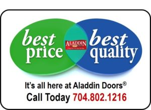 affordable quality garage door services ad