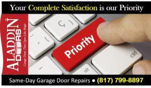 same day garage door repairs ad