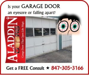 Free consultation for old garage door repair or replacement