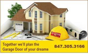 garage door planning services ad