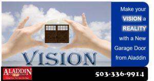 new garage door vision illustration