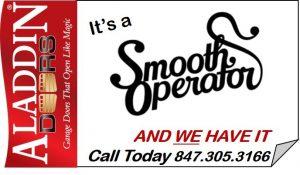smooth operating garage door graphic