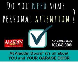 Individualized garage door services sugar land TX