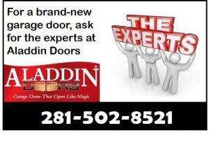 expert garage door replacement graphic
