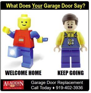 replacement for welcoming garage door graphic